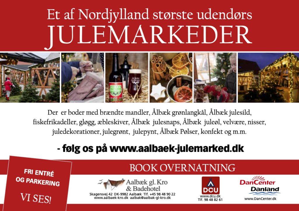 Aalbæk Julemarked 2021 - Nordjyllands hyggeligeste julemarked